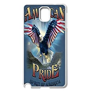 QWSPY Eagle American Flag Wings Phone Case For Samsung Galaxy note 3 N9000 [Pattern-5]
