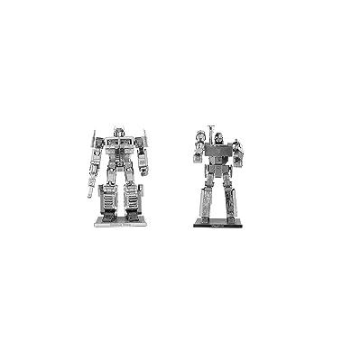 fascinations Metal Earth 3D Model Kits - Transformers Set of 2: Megatron & Optimus Prime: Toys & Games [5Bkhe1104005]