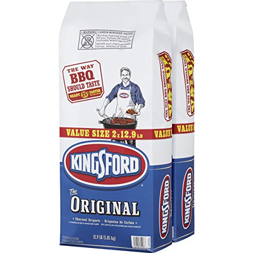 Kingsford Original Charcoal Briquettes, 12.9 Pound Bag (Pack of 2) (Charcoal Briquettes)