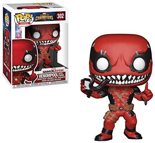 302 Phone (Funko Pop Games: Marvel Contest of Champions-Venompool w/ Phone Exclusive 302)