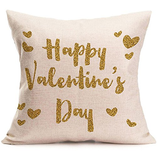 Throw Pillow Cover, DaySeventh Valentine's Day Fashion Throw