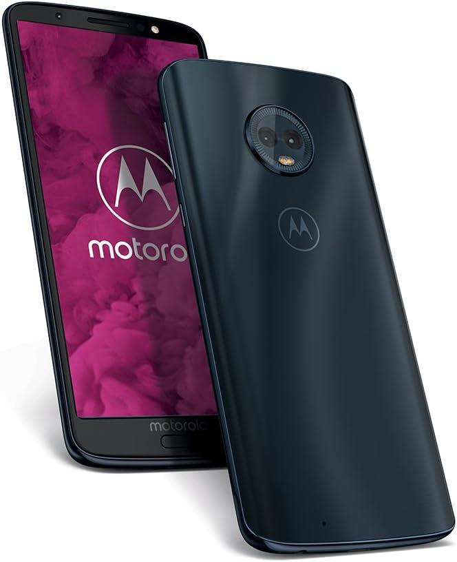 Motorola Moto G6 - Smartphone libre Android 9 ready (pantalla de 5.7, 4G, cámara de 12 MP, 4 GB de RAM, 64 GB, Dual Sim), color azul índigo: Amazon.es: Electrónica