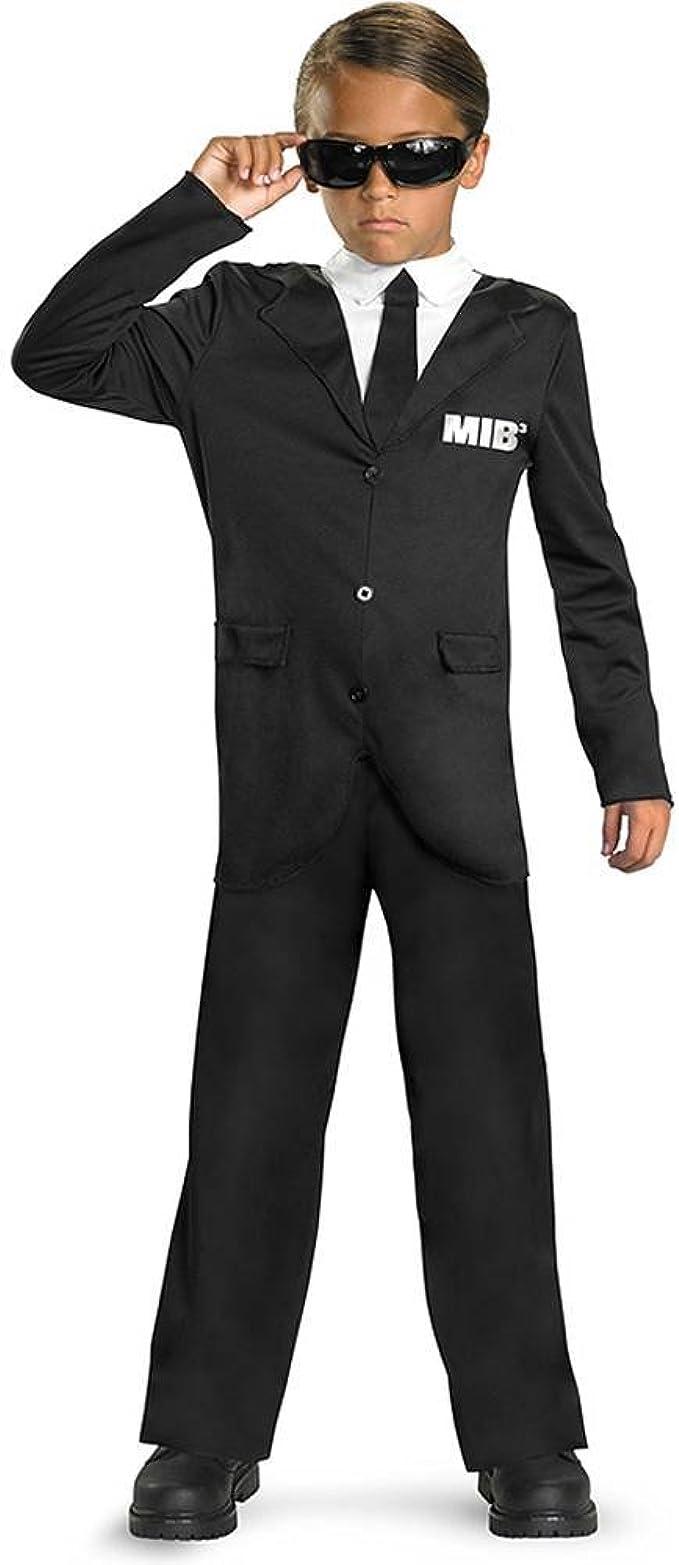 Amazon.com: Men in Black 3 Classic Costume, S, Negro/Blanco ...