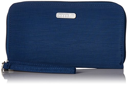 Baggallini Womens Rfid Continental Wallet  Pacific