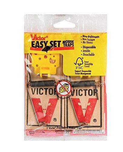 Victor EZ set mouse trap (Pack of 16)