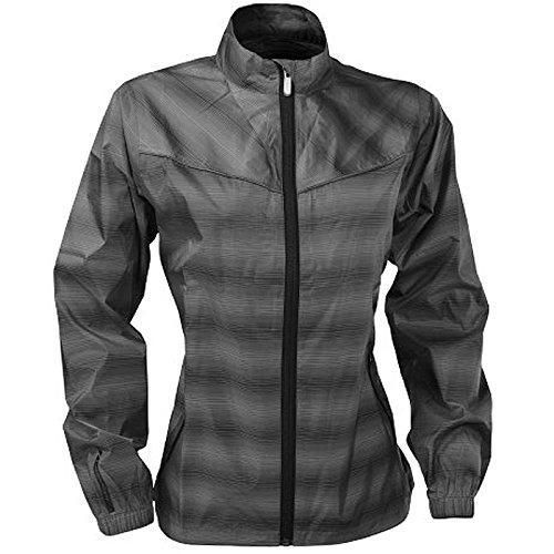 (Sun Mountain 2015 Ladies Provisional Jacket Gray-Plaid XL G562142)
