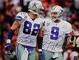 Tony Romo & Jason Witten Autographed Dallas Cowboys 16x20 photo JSA