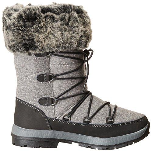 10 Women's Snow Leslie US Boot BEARPAW M Charcoal aB6xgwqX