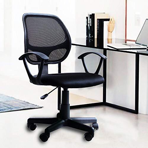 TNPSHOP Modern Ergonomic Mesh High Back Office Swivel Chair Executive Task Computer Desk