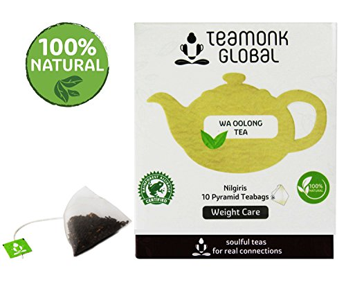 Nilgiri Oolong Tea, 10 Teabags | Supports Weight Care | 100% Natural Whole Leaf Tea | No additives