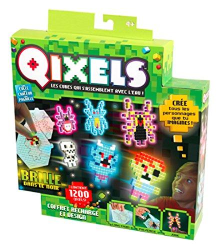Kanaï Kids - 1 - Kit Design Recharges Qixels Glow - Saison 2 - Multicolore
