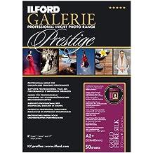 Ilford GALERIE Prestige Gold Fibre Silk 13x19 Inches, 50 Sheet Pack 2001720