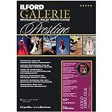 ILFORD 2001720 GALERIE Prestige Gold Fibre Silk - 13 x 19 Inches, 50 Sheets