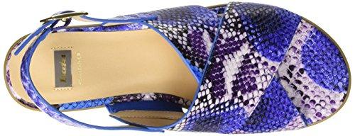 BATA 6619144, Sandalias para Mujer Azul (Blu)