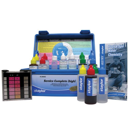 Taylor Technologies K-2005C Service Complete Swimming Pool Test Kit by TAYLOR TECHNOLOGIES INC