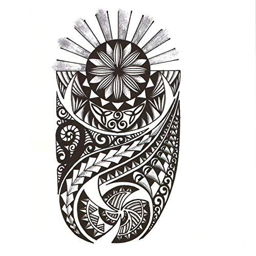HDNSA Tótem tribal impermeable tatuajes temporales hombres día y ...