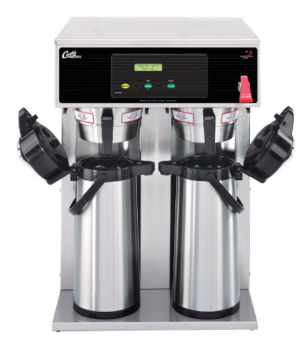 Wilbur Curtis G3 Airpot Brewer 2.2L To 2.5L Twin/Standard Airpot Coffee Brewer Dual Voltage - Commercial Airpot Coffee Brewer - D1000GT63A000 (Each)