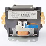 Holdwell SA-1.5P-30A-24V 1 Pole Normally Open Double Make with shunt 20 Amp 25 Amp 30 Amp 24V Coil Definite Purpose Contactor