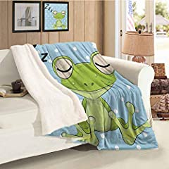 Why Choose Our Blanket?Our Adheres To The Highest Standards Of Quality, Works On Improving Your Quality Of Everyday Life By Offering You Superior products. We Are Always Here For You!High Quality Material - Double Faced Plush Microfiber Flann...