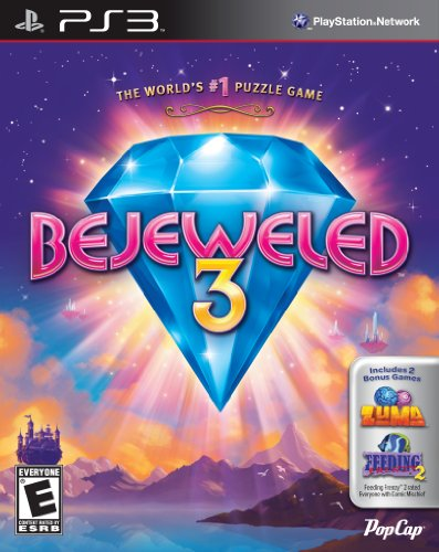 Price comparison product image Bejeweled 3 (with Zuma & Feeding Frenzy 2) - Playstation 3