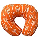 Orange Arrow Nursing Pillow Cover