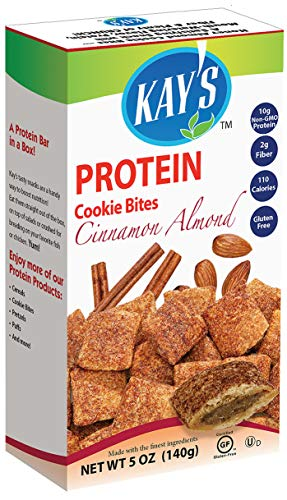 Kays Naturals Cookie Bites – Cinnamon Almond – Case Of 6 – 5 Oz