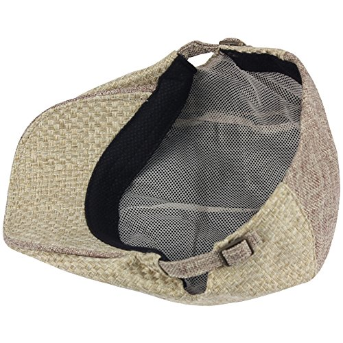 RaOn-G83-newsboy-Cap-Daily-Irish-Hemp-Straw-Summer-Cool-Plus-Big-Size-XL-XXL-Hat