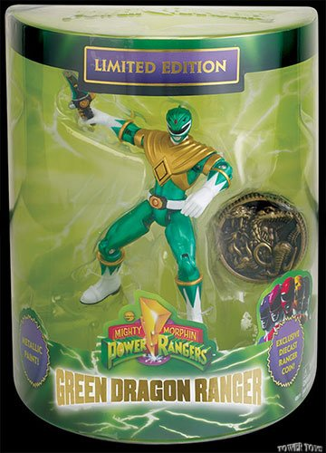 SDCC 2013 Bandai Exclusive Limited Edition Mighty Morphin Green Dragon (Sdcc Limited Edition)