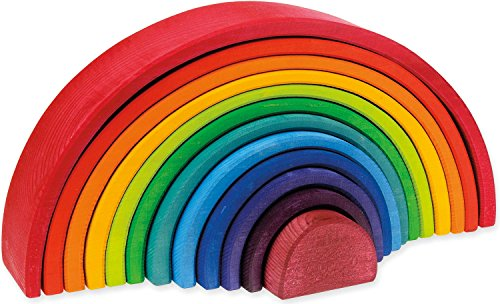 Stackable Wooden Rainbow by Shaker Workshops