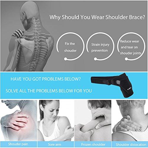 dark teal braces amazoncom shoulder brace for men women by lifu rotator cuff