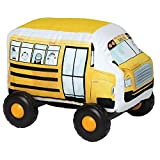 Manhattan Toy Bumpers School Bus Toy Vehicle for Toddlers