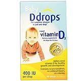 Ddrops Baby Liquid Vitamin D3 400 IU 2.50 mL (90 drops) ( Pack of 2)