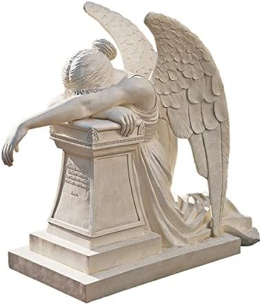 Design Toscano DB1111 Angel of Grief Monument Religious Garden Statue