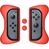Surge Grip Kit, Joy-Con & Thumb Grips - Red - Nintendo Switch