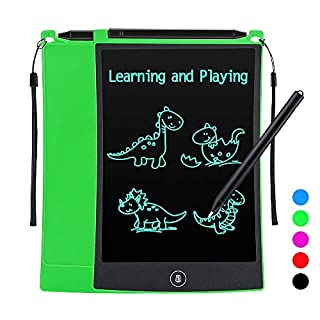 Tesoky Toys for 3-10 Year Old Kids, LCD Wrting Tablet Drawing Board and Doodle Board for 3-8 Year Old Kids Stocking Stuffers for Kids Age 3-8 Christmas Xmas Gifts for Boys Girls Kids Age 3-8 (Green)