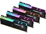 G.SKILL 64GB (4 x 16GB) TridentZ RGB Series DDR4 PC4-27700 3466MHz Desktop Memory Model F4-3466C16Q-64GTZR