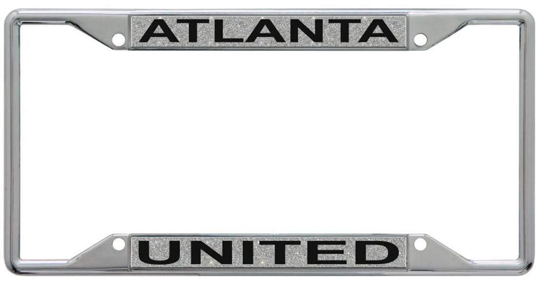 WinCraft Atlanta United Premium License Plate Frame Glitter Edition