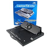 Vantec LapCool TX LPC-460TX Adjustable Notebook Stand with Built-in Fan (Black)