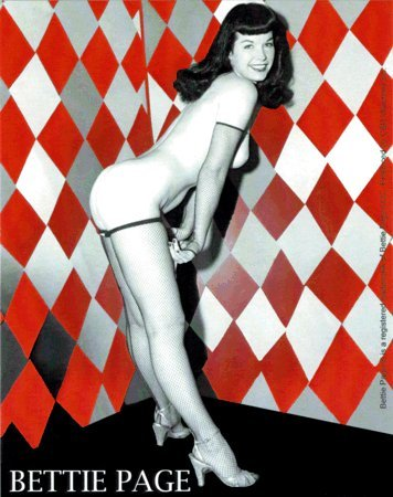 Bettie Page - Pinup - Bumper Sticker / ()