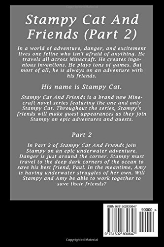 Stampy Cat And Friends A Novel Based On Stampylongnose Ft Amy Lee Part 2 Amazonde Minecraft Handbooks Fremdsprachige Bucher