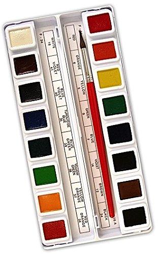 Prang Watercolor Sets (Square) - Standard (Set of 16) ()