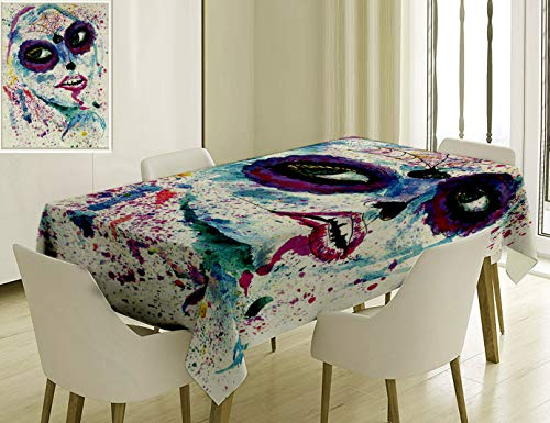 Unique Custom Cotton And Linen Blend Tablecloth 3
