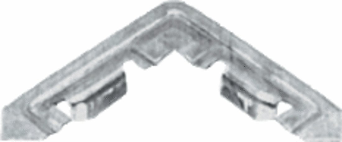 CRL Aluminum Corner for WSF347 Series Screen Frame - 100 pack by C.R. Laurence