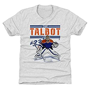 hot sale online 0a080 e4253 Amazon.com : 500 LEVEL Cam Talbot Edmonton Hockey Kids Shirt ...