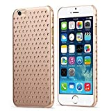 iPhone 6S Case/ iPhone 6 Case- KAYSCASE Usmed Slim Starry Hard Shell Cover Case for Apple iPhone 6S 4.7 inch 2015 Version/ iPhone 6 4.7 inch 2014 Version (Gold)