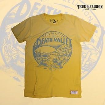 8566bcdab TRUE RELIGION MEN S S S DEATH VALLEY CREW NECK T-SHIRTS トゥルーレリジョン メンズ