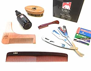 gbs 7 piece ultimate shape and style beard grooming kit comes in gift box beauty. Black Bedroom Furniture Sets. Home Design Ideas