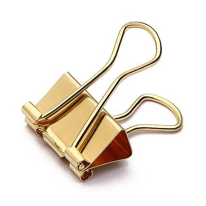 Burofin Clips de plegado de acero inoxidable de metal ...