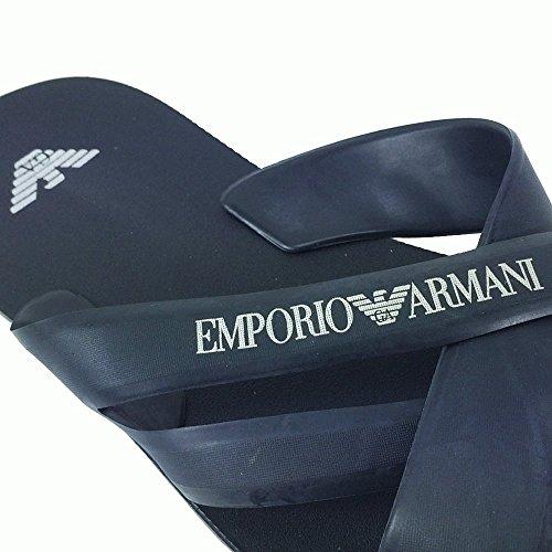 EMPORIO ARMANI, FARBE: MARINE MIT CROSS OVER GURT EMPORIO ARMANI 211516 5P488 00135 IN SILBER Dunkelblau