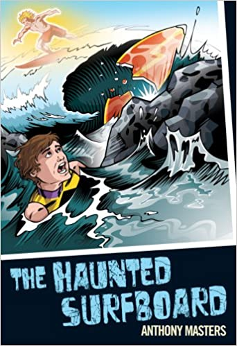 Book The Haunted Surfboard (Colour Graffix)